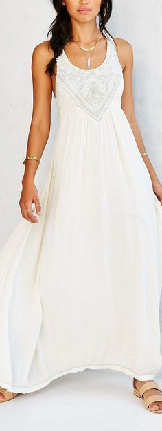 embellished maxi dress