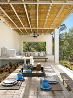 Mind Blowing Tips: Coastal Bedroom Colors coastal patio heavens.Coastal Patio Heavens coastal home on pilings. Outdoor Rooms, Outdoor Dining, Outdoor Decor, Outdoor Sheds, Porch And Terrace, Terrace Garden, Gazebos, Mediterranean Homes, Tuscan Homes