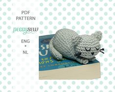 See more from this shop on Etsy, a global marketplace of creative businesses. Cat Amigurumi, Amigurumi Patterns, Knitting Patterns, Crochet Patterns, Crochet Double, Single Crochet, Crochet Yarn, Crochet Toys, Chain Stitch