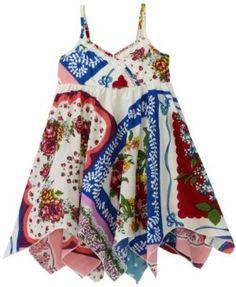 Mimi & Maggie Baby-girls Infant Vintage Handkerchief Dress