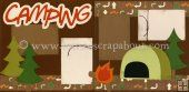 Camping Scrapbook Page Kit