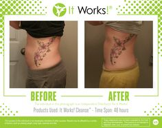 It Works! Cleanse is a gentle two-day herbal cleanse that helps your body reset and rebalance itself so you can feel and look your best!  Formulated with two proprietary blends to work with your body to help remove toxins while delivering essential nutrients and vitamins, It Works! Cleanse provides a powerful cleanse without the harsh effects other cleanses can cause.