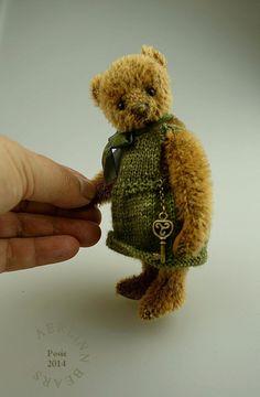 Amadeo plush collectible art teddy bear