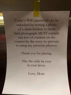 Strict Mom Has Genius Solution to Get Kids to Do Their Chores