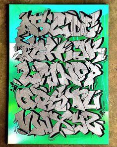 Graffiti Writing, Graffiti Alphabet, Graffiti Lettering, Graffiti Murals, Mural Art, Dungeons And Dragons Homebrew, Character Sketches, Art Paintings, Skate