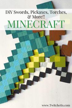 Image result for minecraft torch diy
