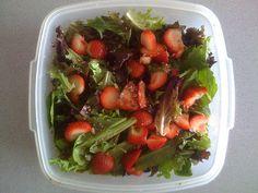 Raspberry and Strawberry Salad