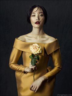 Phuong My FW13/14 Collection: Flowers in December on the Wacom Gallery