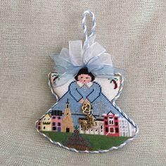 Charleston angel ornament