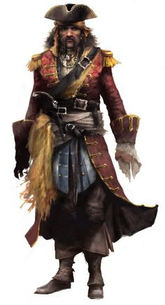 Bartholomew Roberts a.k.a  Black Bart. When killed in battle, his men throw his body overboard so that his body is never taken.