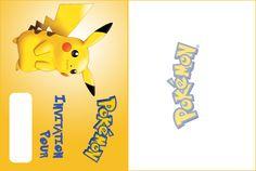 Pokemon Pikachu invitation à imprimer
