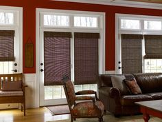 Balance a Room With Woven Wood Shades - Enhance a Room's Design Style With Window Treatments on HGTV