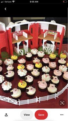 62 Ideas Baby Animals Farm Party Ideas For 2019 Cow Birthday, Farm Animal Birthday, Tractor Birthday, Cowgirl Birthday, Birthday Cupcakes, Farm Animal Party, Farm Themed Party, Barnyard Party, Farm Party