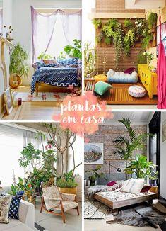 Não é segredo nenhum que as plantas têm um impacto incrível na decoração já que além de trazer frescor ao ambiente elas também têm uma influência positiva
