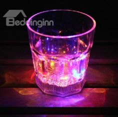 Cool Dazzle Colorful LED luminous cocktail acrylic glass/Party Cup by summer825904