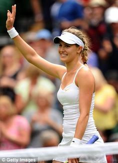 Eugenie Bouchard. Seriously wish I could meet and play like this girl.