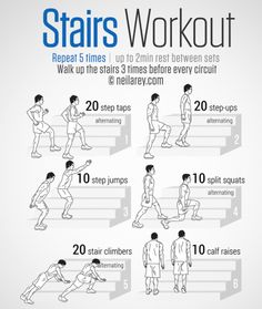 This #workout can be done by anybody at home... unless you live in a bungalow of course! #StairsWorkout