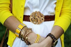 Monogram Belt=LOVE!