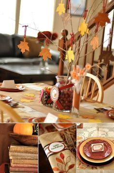 Get your home ready for cozy family meals this Thanksgiving with these festive fall home decor ideas.