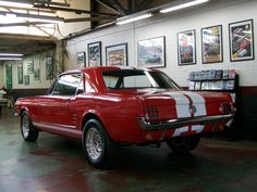 1966 Mustang 289 Automatic Coupe - Lou Guthry Motors