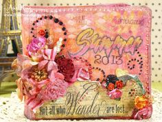 Under a creative spell: Stampendous and Maya Road - big blog hop!