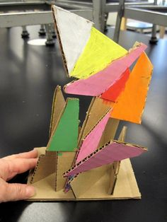 There& a Dragon in my Art Room: grade abstract cardboard sculpture Grade 1 Art, First Grade Art, Cardboard Sculpture, Cardboard Art, Art Lessons For Kids, Art For Kids, Kid Art, Abstract Sculpture, Sculpture Art