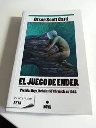 """Punto 35. Un libro ganador del Premio Hugo. Card, Orson Scot, """"El juego de Ender"""""""