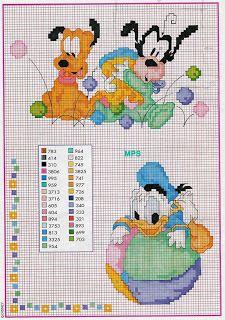 Sandrinha Ponto Cruz: Disney Baby3