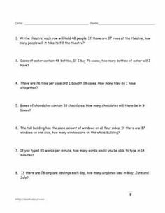 Doubles And Halves Worksheets Pdf Two Step Equation Word Problems Worksheets  Mathaidscom  Writing Kindergarten Worksheets Pdf with Electron Arrangements Worksheet Answers Excel Multiplication Word Problem Worksheets Dna Fingerprinting Worksheet Answers Excel
