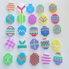 Easter eggs hama perler beads by _louises_