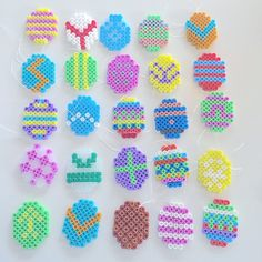 Easter eggs hama perler beads by _louises_