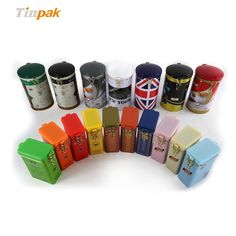 Various coffee tin cans in wholesale price on Tinpak