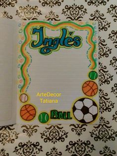 Diary Decoration, Page Decoration, Page Borders Design, Border Design, Project Cover Page, Pop Art Fashion, Bring It To Me, School Notebooks, Decorate Notebook