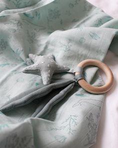 tissu de coton couette Coudre Craft Couturearbre hiboux La moitié orange bleu compteur