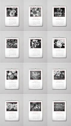 Calendar 2018 design