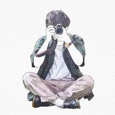 Aesthetic Anime, Aesthetic Art, Anime Art Girl, Anime Guys, Cute Couple Art, Beautiful Fantasy Art, Cartoon Sketches, Korean Art, Human Art