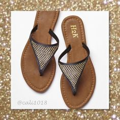 Black Glittering Mesh Sandals Sizes 7-11 Avail New Glittering Mesh Sandals Comfortable & Stylish  Sizes: 7, 8, 9, 10, 11 Color: Black Glittering Mesh PLEASE DO NOT PURCHASE THIS LISTING PLEASE COMMENT BELOW AND I WILL CREATE A SEPARATE LISTING JUST FOR YOUR PURCHASE Glam Squad 2 You Shoes Sandals