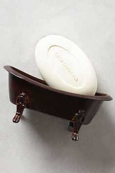 Claw Foot Soap Dish - anthropologie.com
