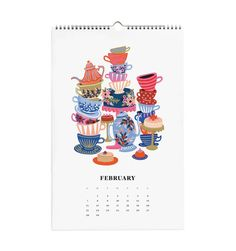 2016 Alice in Wonderland Wall Calendar https://riflepaperco.com/2016-alice-in-wonderland-calendar/