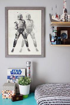 Dale la bienvenida a tu joven Padawan con estilo imperial. | 21 Cosas que necesitas para la perfecta habitación del bebé de Star Wars