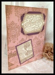 FLASH CARD - Vintage-y Shop Around - www.SimplySimpleStamping.com