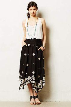 Insignia Maxi Skirt