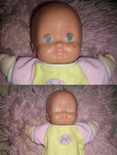 Baby Magic Nursery- Eyes opened with cold water closes with warm. This was my favourite doll ever!!!