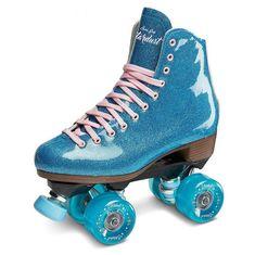 Stardust Blue Glitter Skates – Lucky Skates