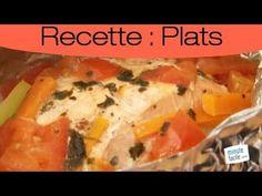 Recette : Papillote de saumon aux petits légumes - YouTube