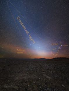 NASA's Astronomy Picture Of The Day: Zodiacal Light Before Dawn