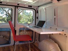 App Developer Turns Van Into Mobile Office - Business Insider