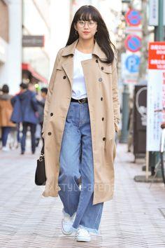 なみさん   GRL CONVERSE g.u. jouetie FOREVER 21 ZARA   2017年 4月 第2週   渋谷   東京ストリートスタイル   東京のストリートファッション最新情報   スタイルアリーナ