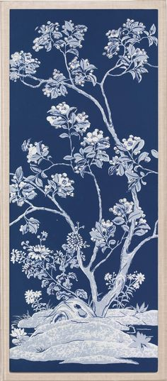 Blue Tree Panels 3 | Natural Curiosities
