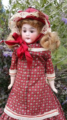 Check out this item in my Etsy shop https://www.etsy.com/listing/463865342/antique-german-bisque-shoulder-head-doll